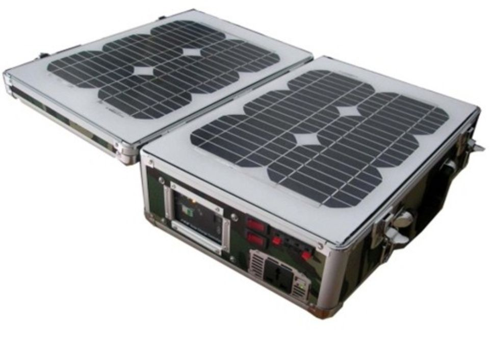 Portable Solar Home Lighting System 20 Watt