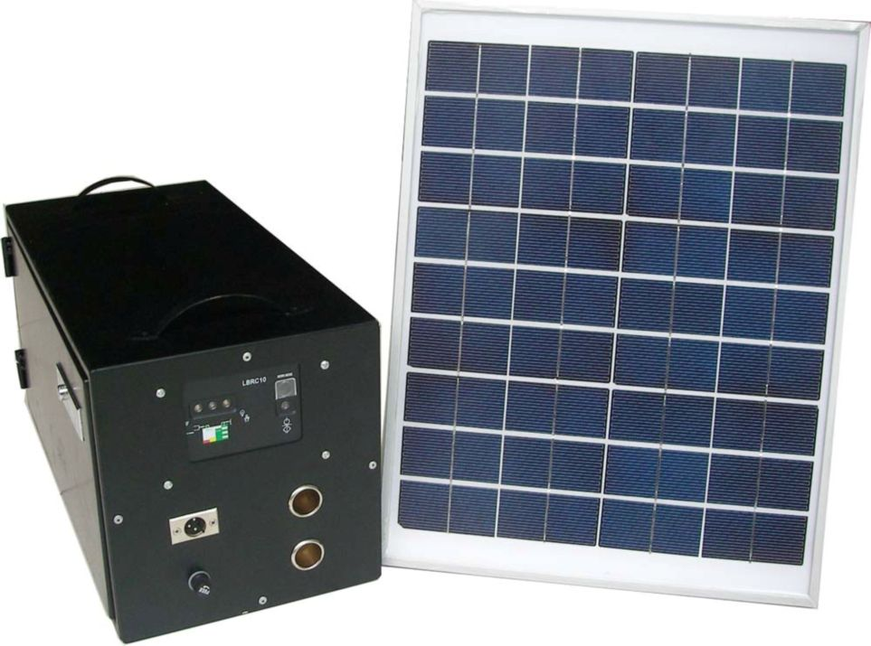 Portable Solar Home Lighting System 30W