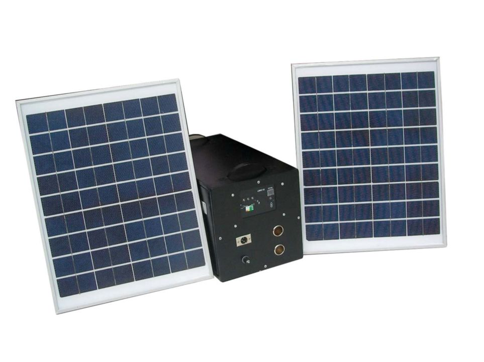 Portable Solar Home Lighting System 40W